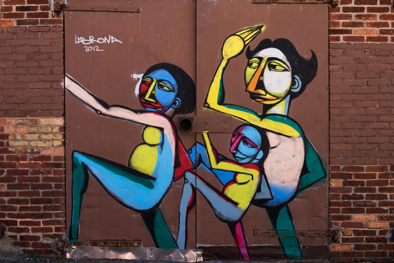 Mural by Labrona