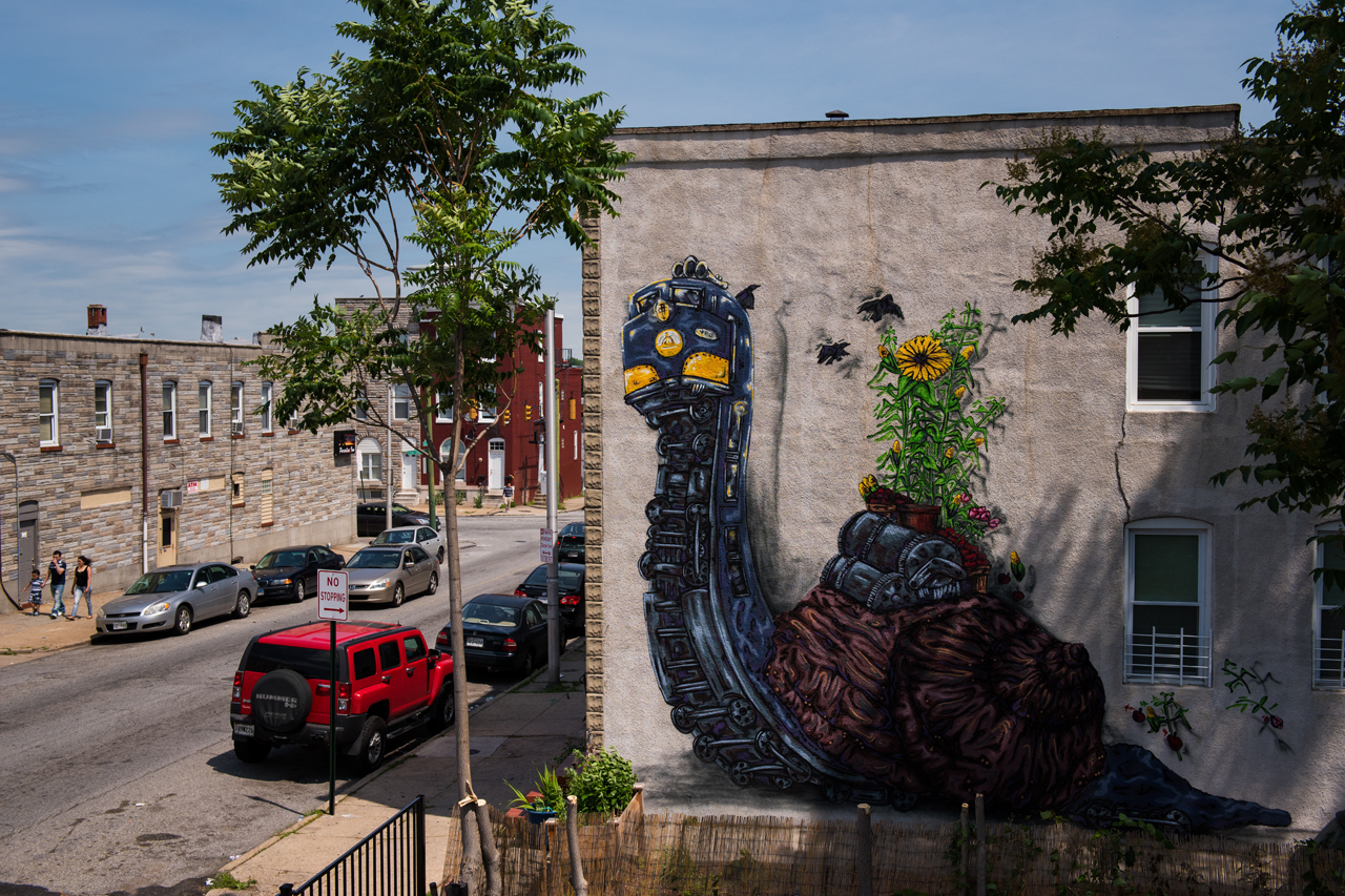 Snail Train by Stefan Ways - Shift:Baltimore