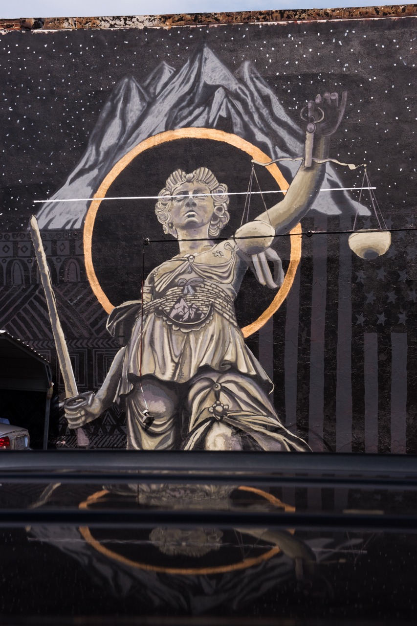 Mountain Top - Blind Justice by Nether ...  Visions: Sandtown Mural & Arts Project