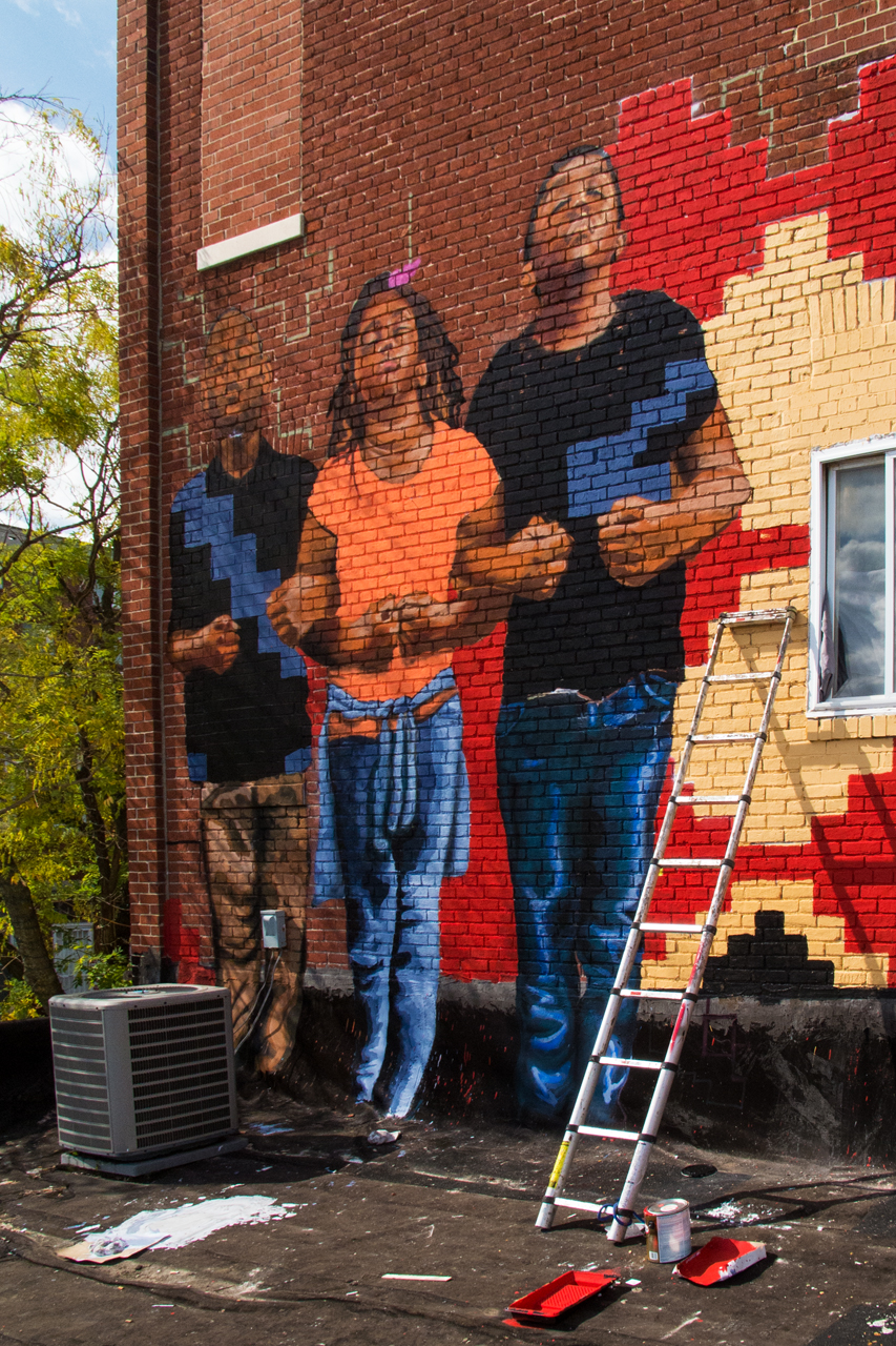 Solidarity by Bat Favitsou ... Eubie Blake: Sandtown Mural Project