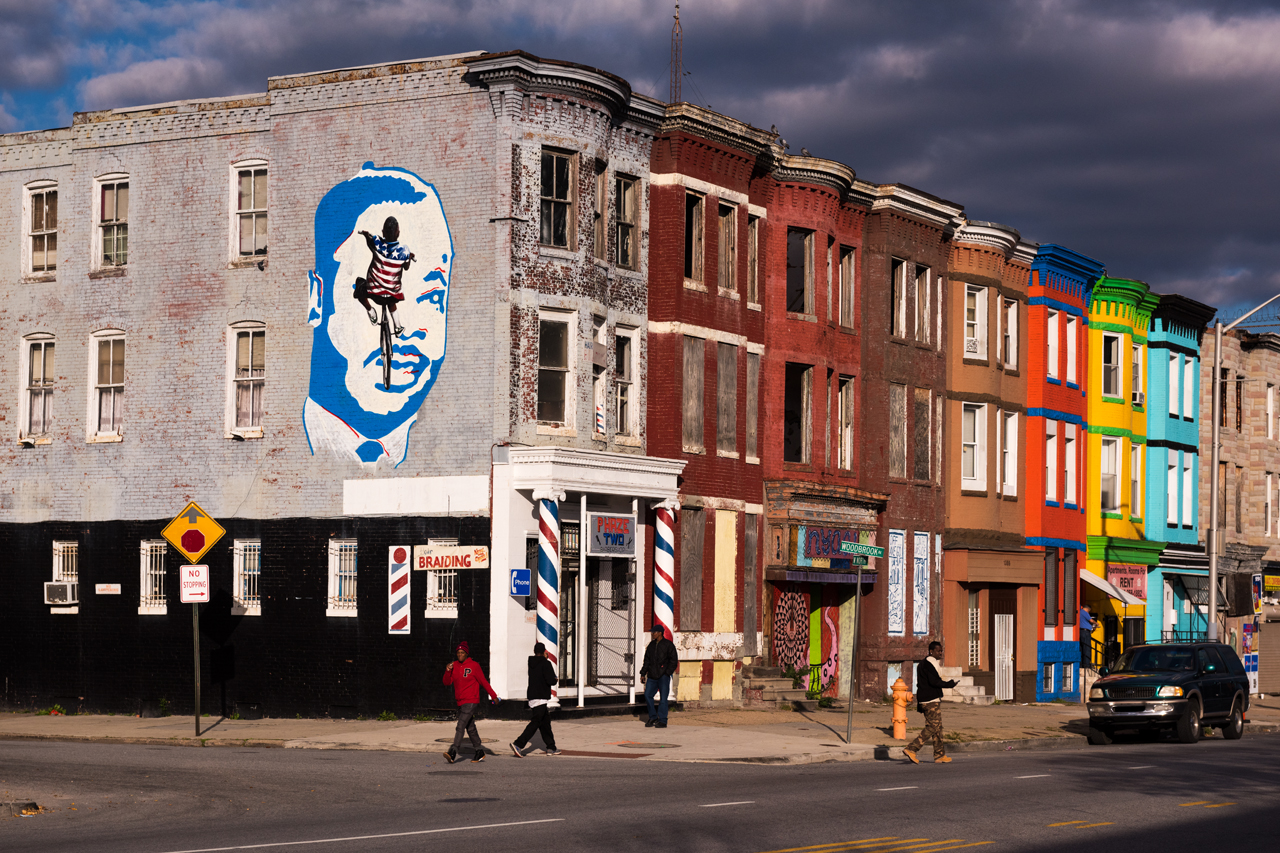 Pablo Machioli for the Eubie Blake: Sandtown Mural Project