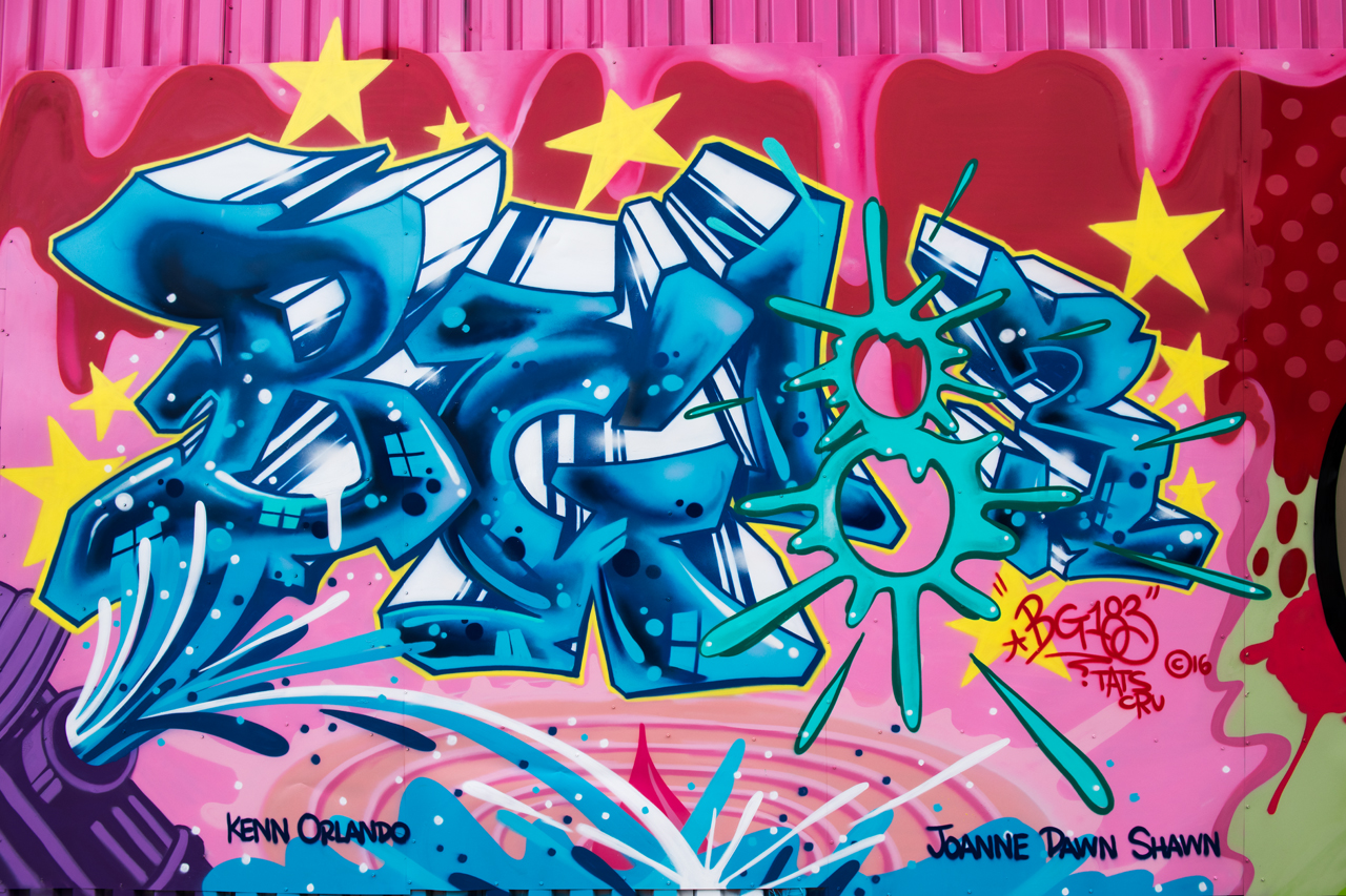 BG183 of Tats Cru for the Bushwick Collective