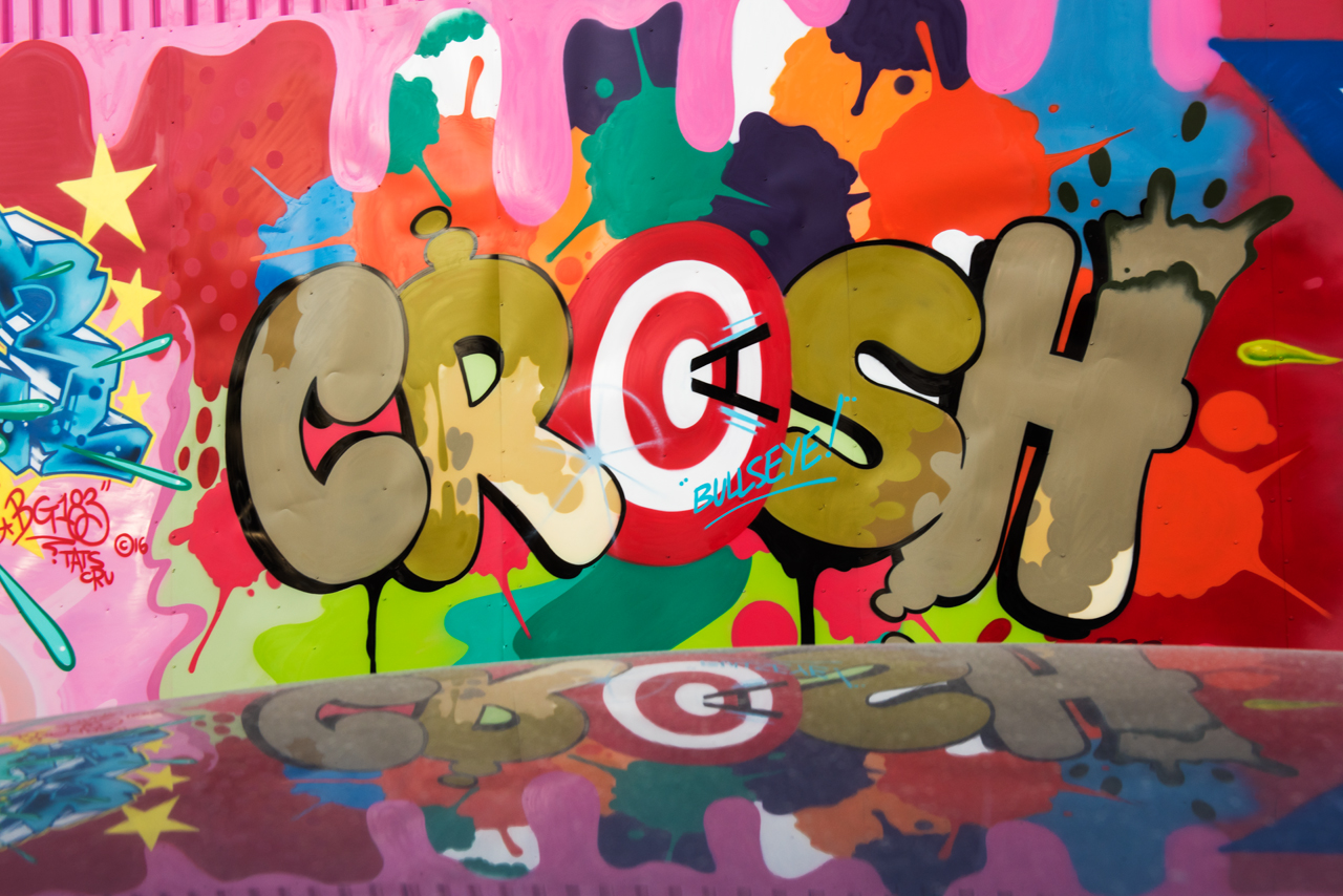 Crash of Tats Cru for the Bushwick Collective