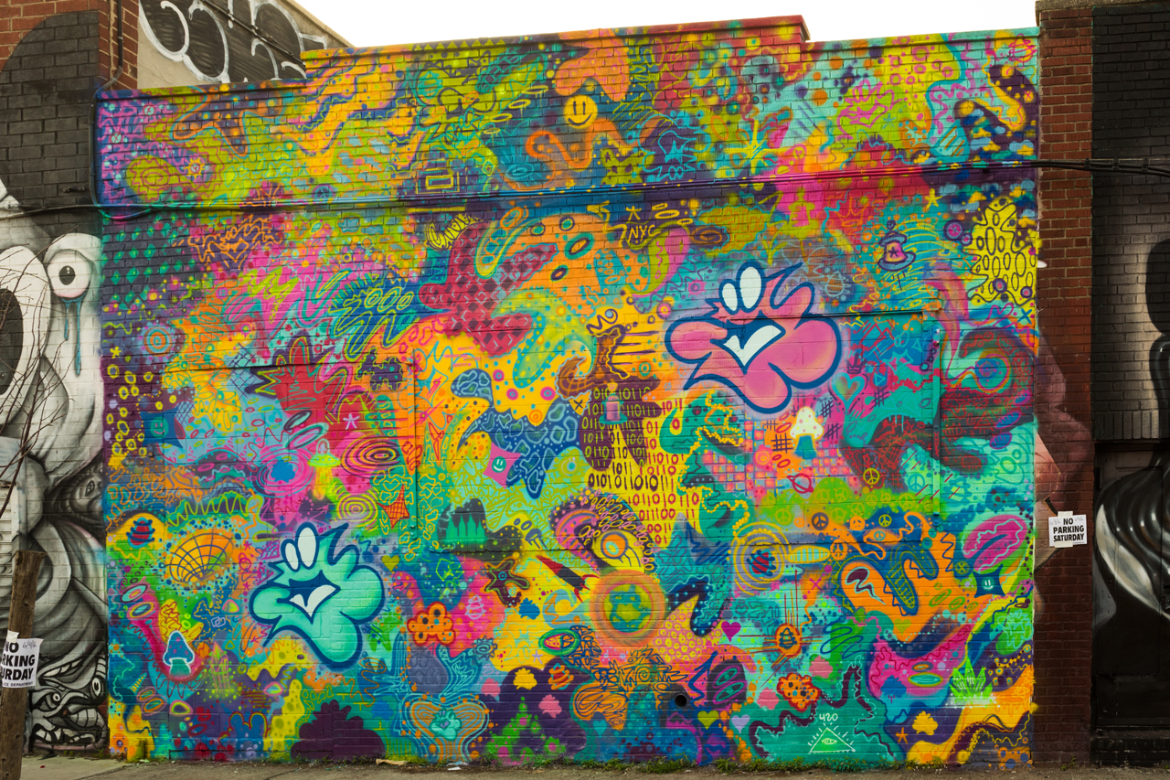 Plasma Slug for the Bushwick Collective