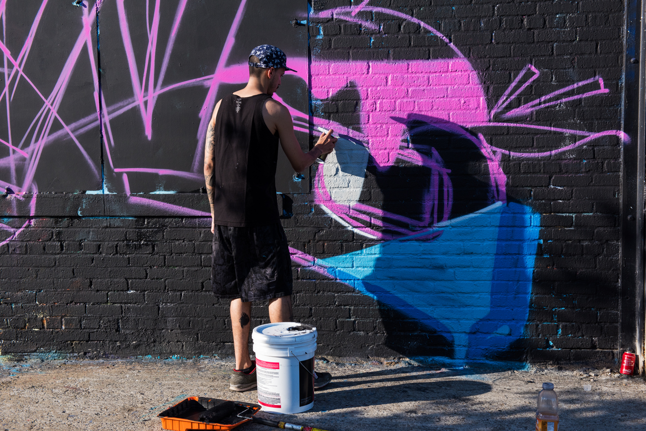 Graff at Block Party _ 50