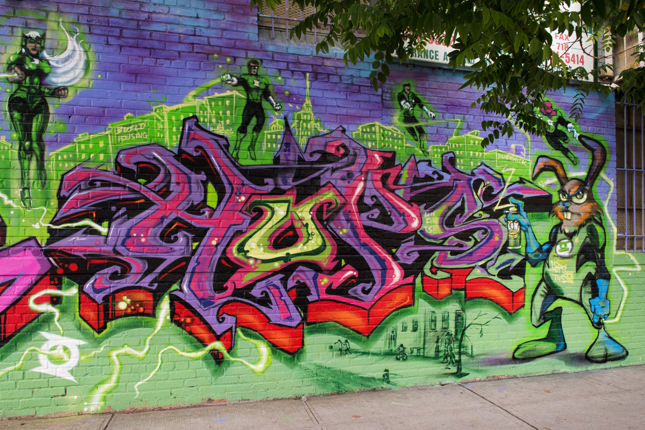 Graff at Block Party _ 60