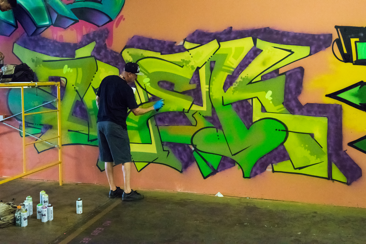 Arek at work