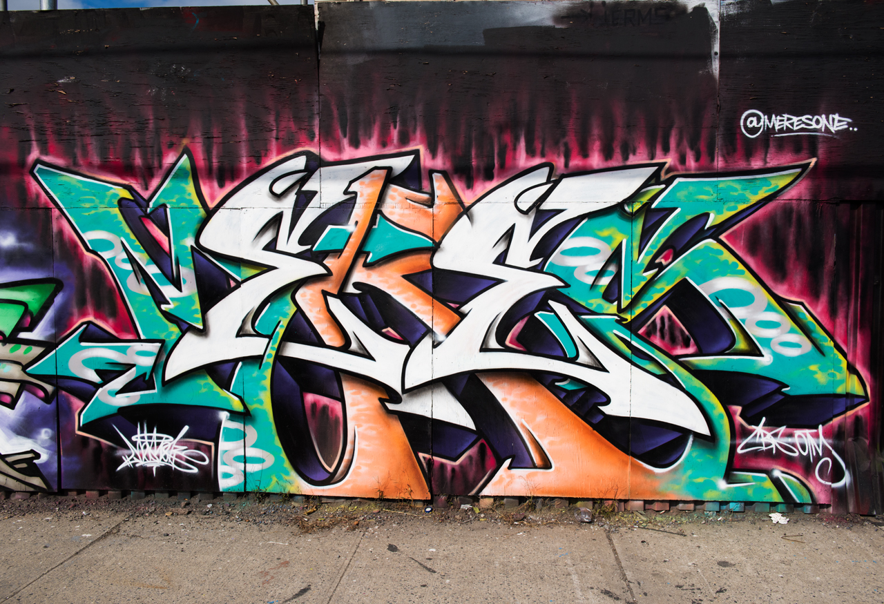Meres - wall with 4sakn, Kryme, Shyne, Tiper and Veer