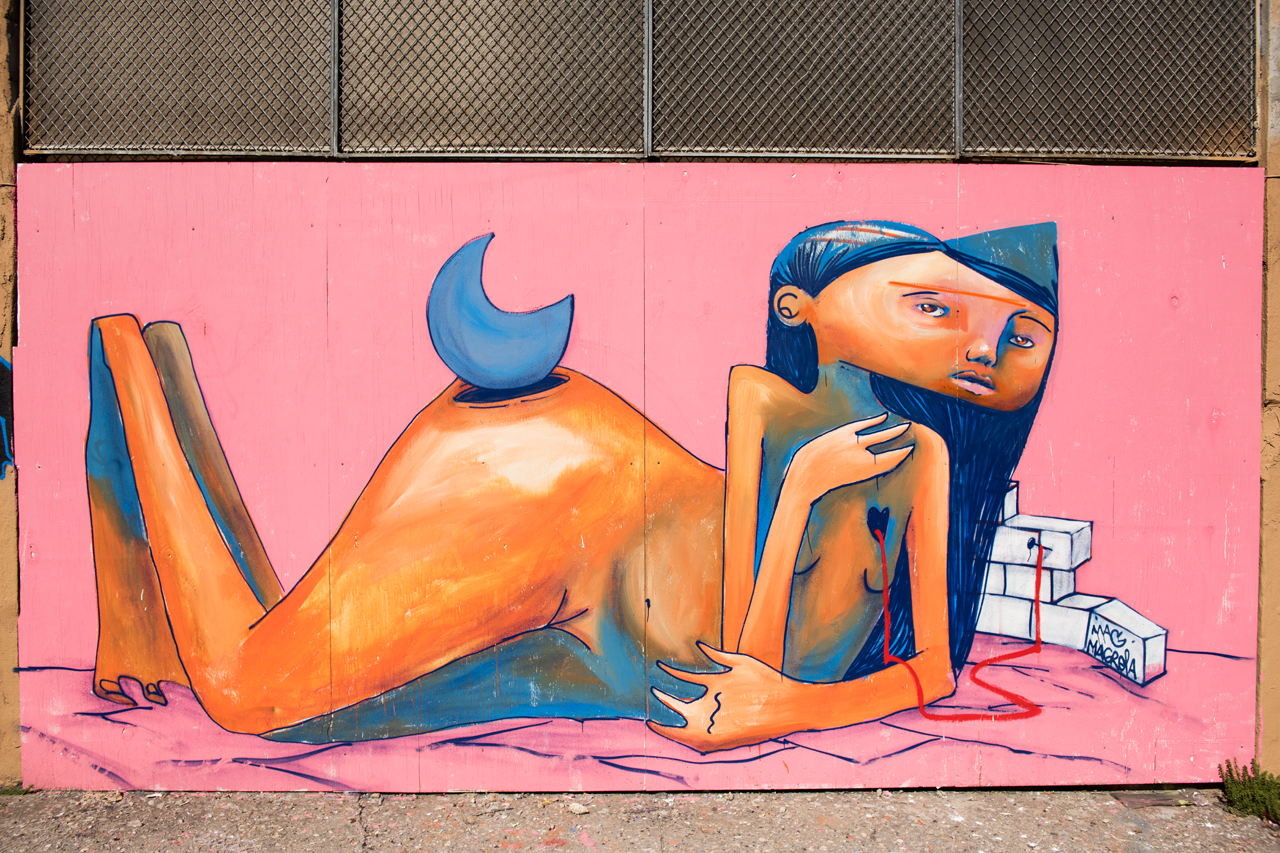 Mural by Mag Magrela