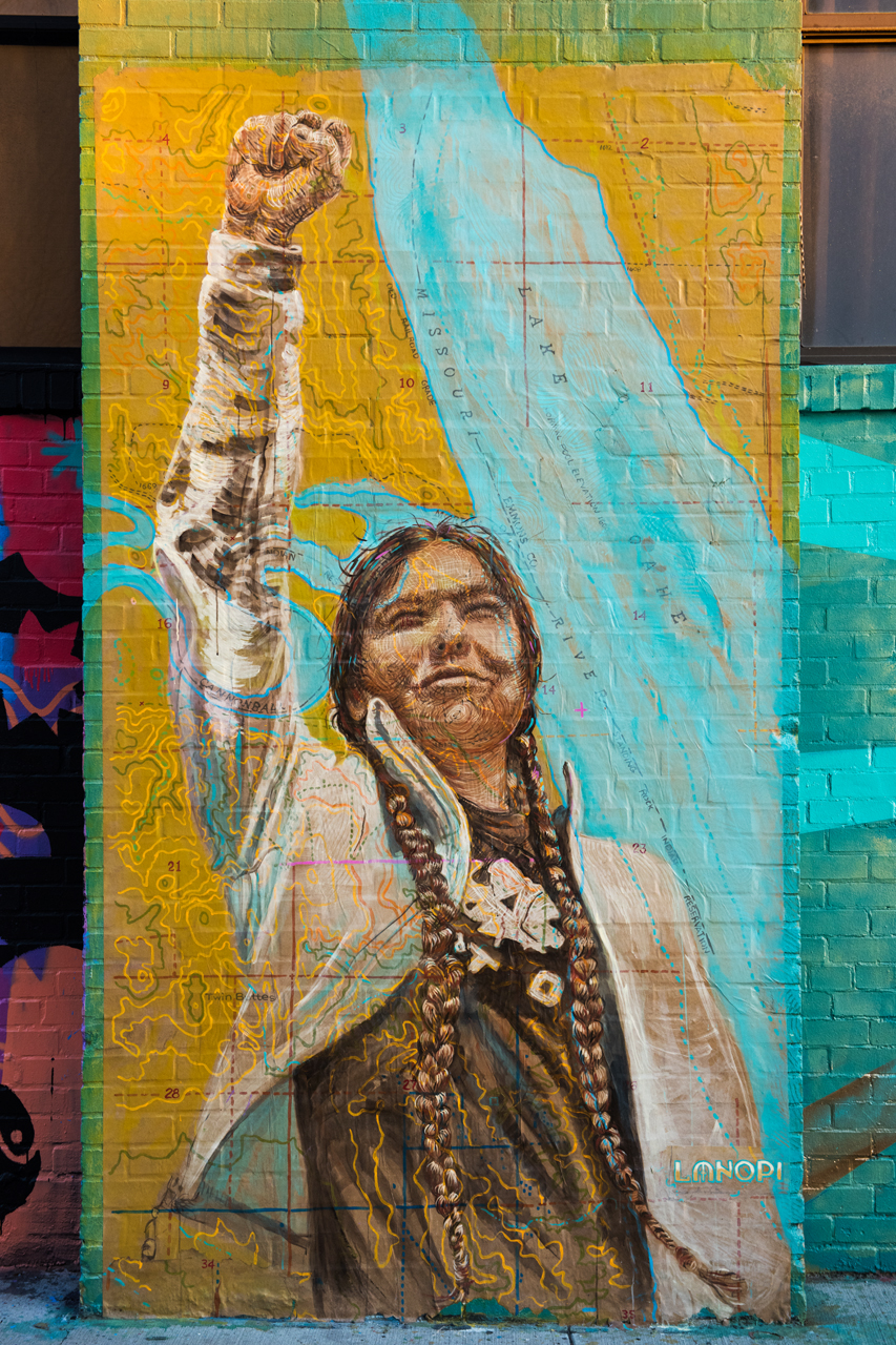 Water Is Life (Standing Rock) by LMNOPI at Livestream Public