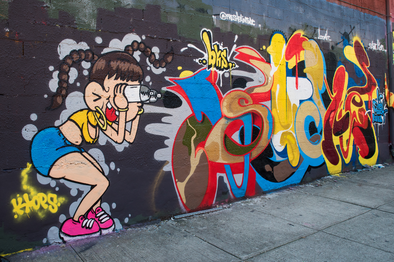 Klops and Such - from the wall with Hoacs, Zaone and Phetus