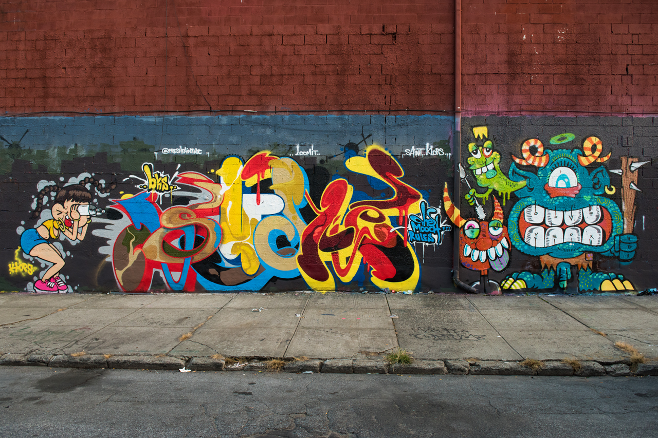 Klops, Such and Phetus - from the wall with Hoacs and Zaone