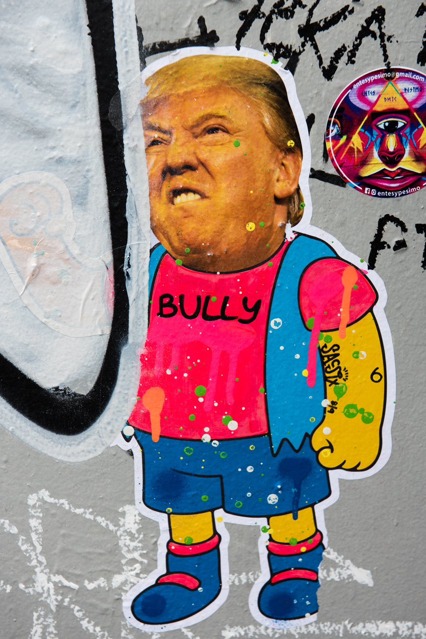 Bully - wheatpaste by Sacsix
