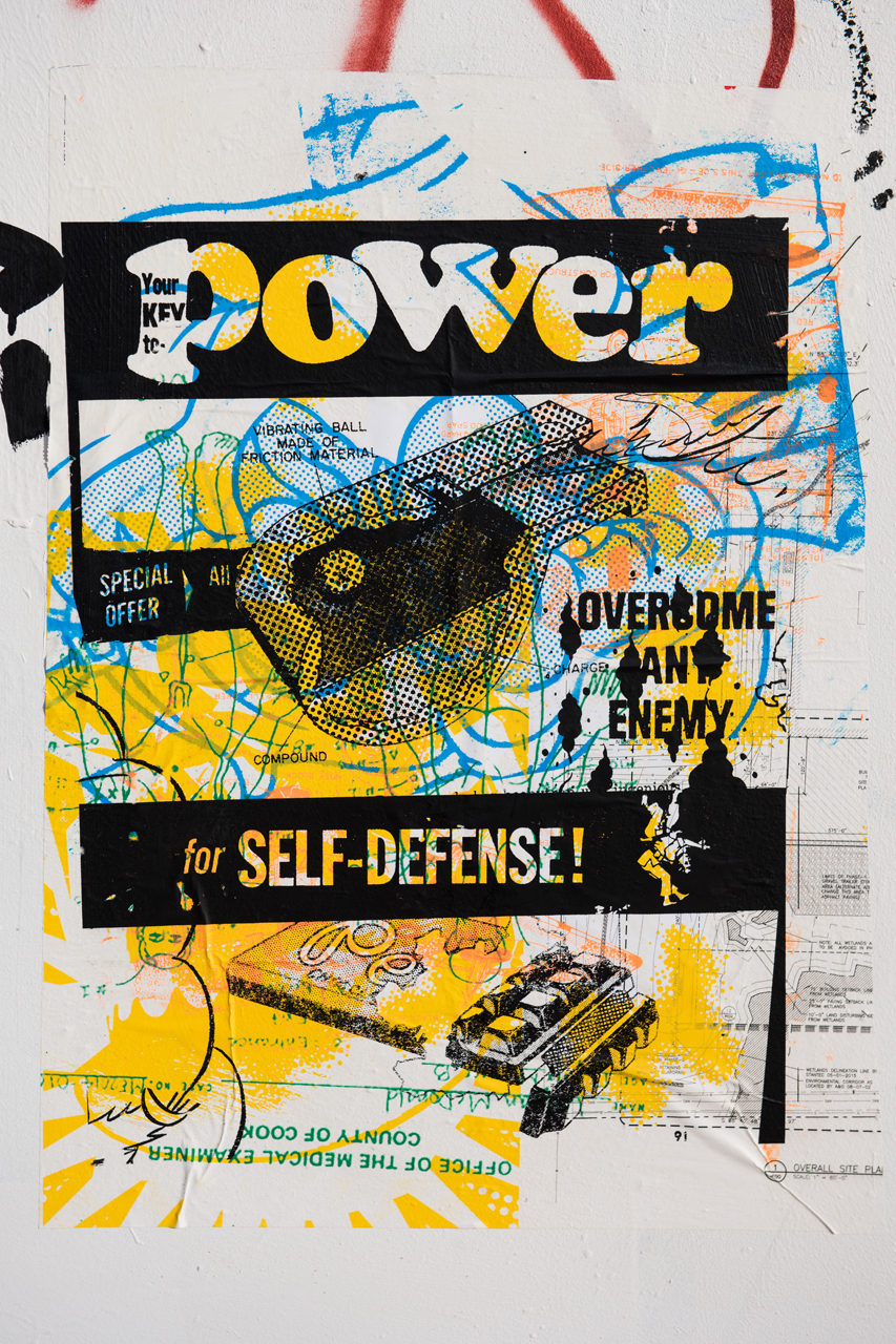 Power for self-defense - unidentified artist