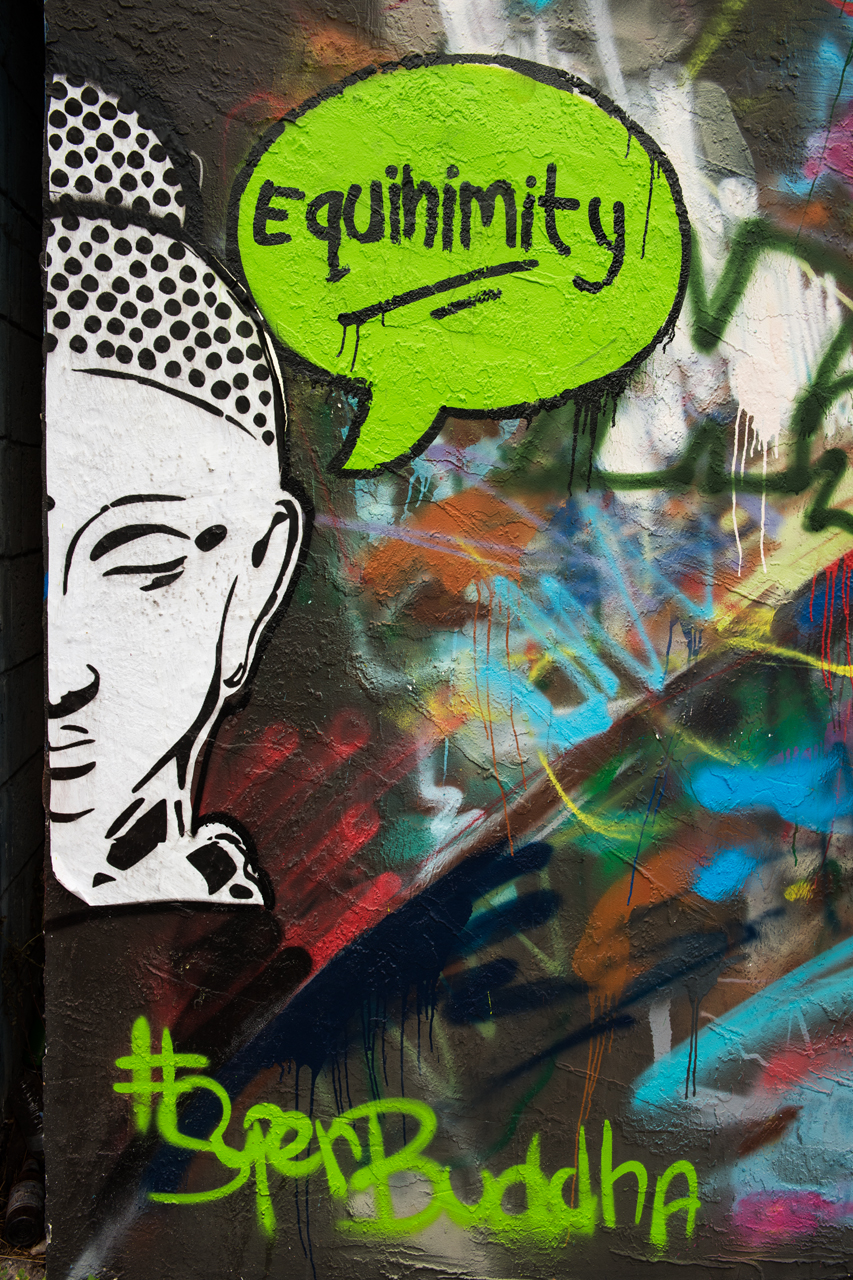 Super Buddha says equinimity