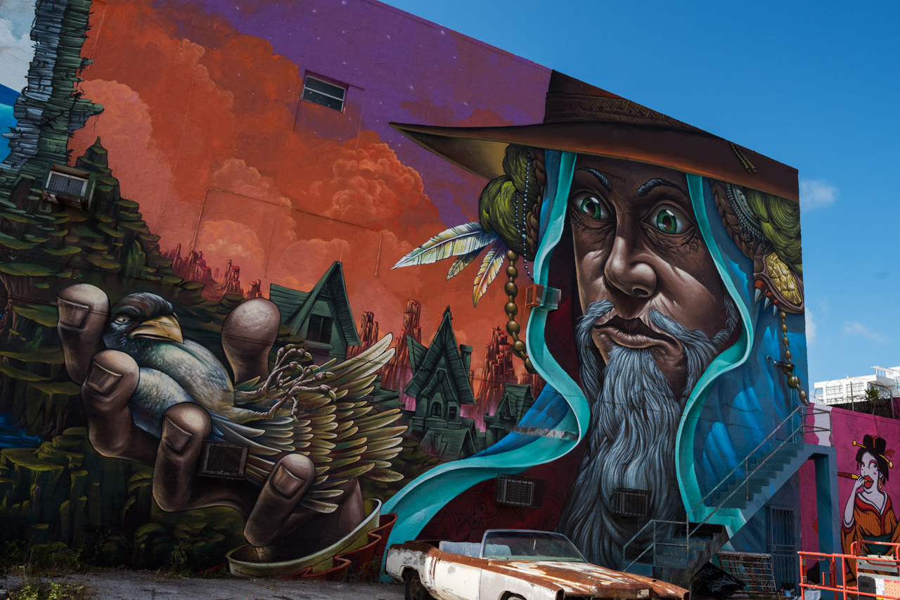 Right side of the gigantic collaboration by Bruno Smoky and Shalak Attack