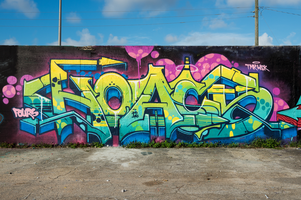 Headlining today's post ... Hoacs for the Bushwick Collective & Mana Urban Arts Projects