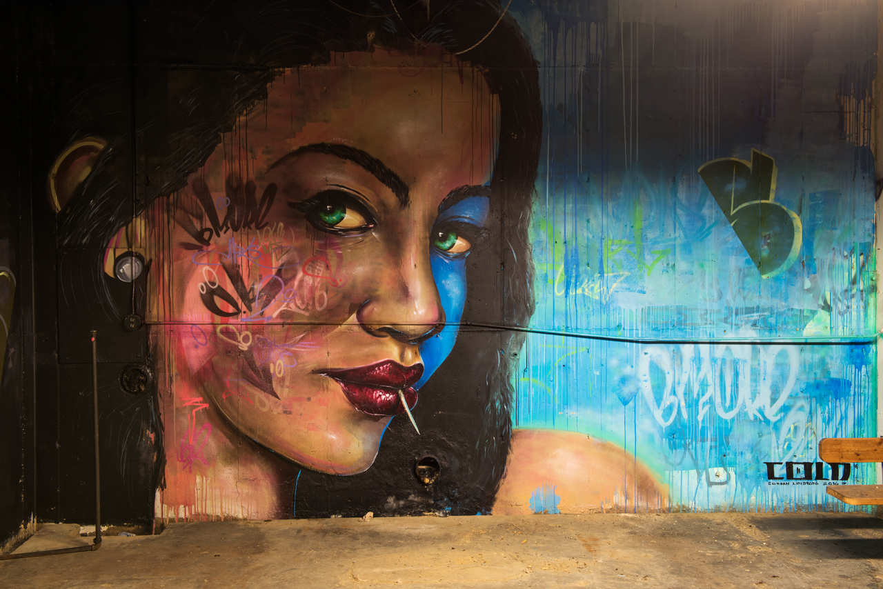 For Section 1 Project's Creative Labs - mural by Corban Lundborg