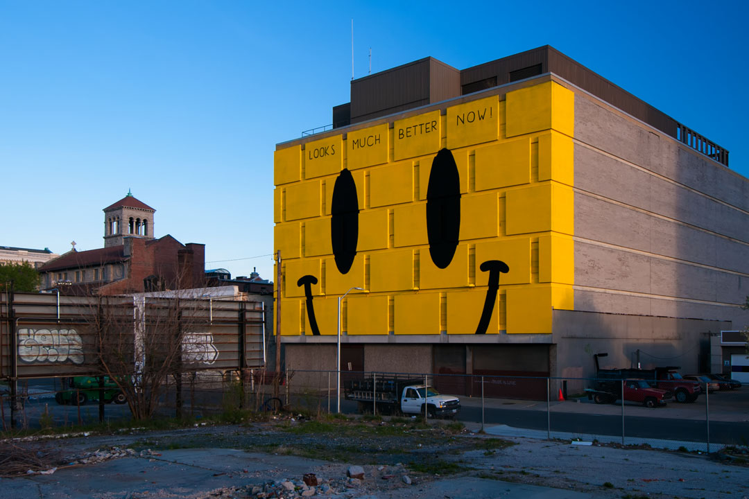 Looks Much Better Now - Escif at Open Walls Baltimore 2014