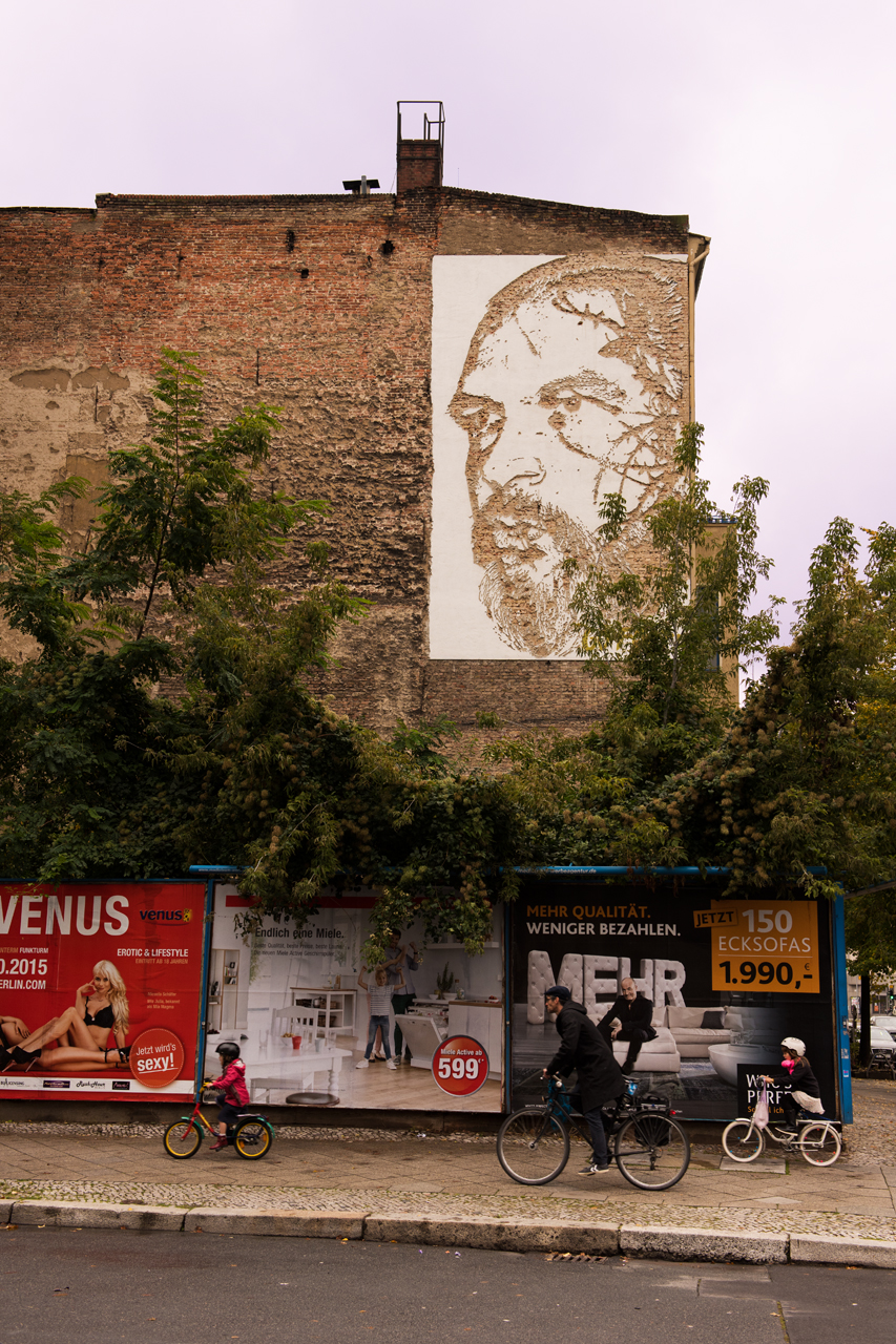 Go Forth streetscape ... Vhils