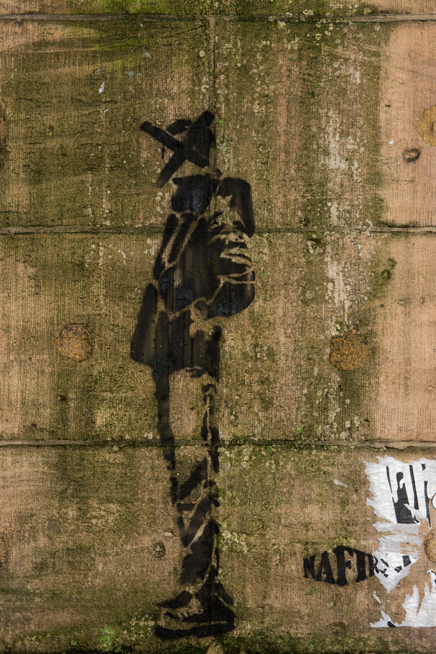 Crossed-out ... stencil by Nafir