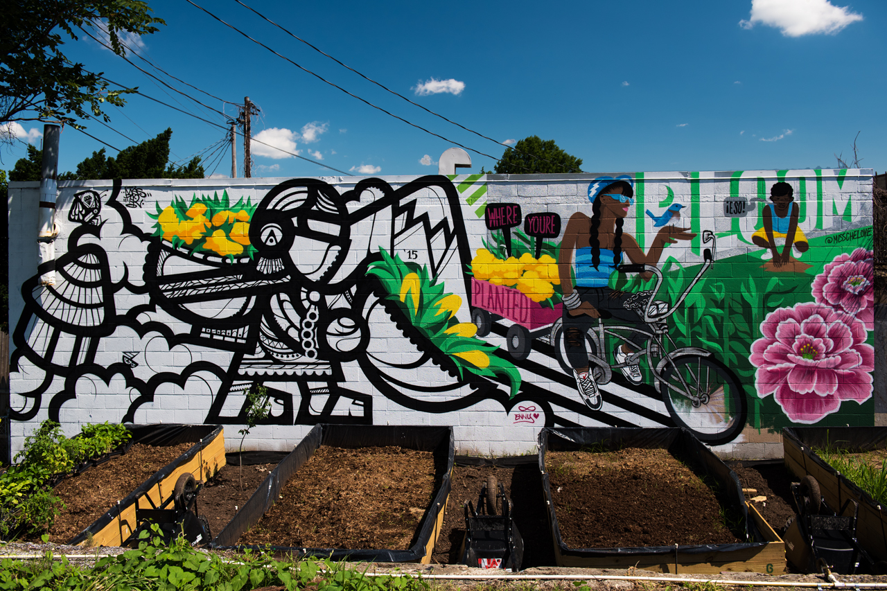 Mas Paz and Miss Chelove collaboration - Shift:Baltimore