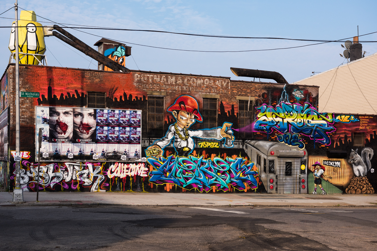 Collab by Meres One, Jerms & Topaz for the Bushwick Collective