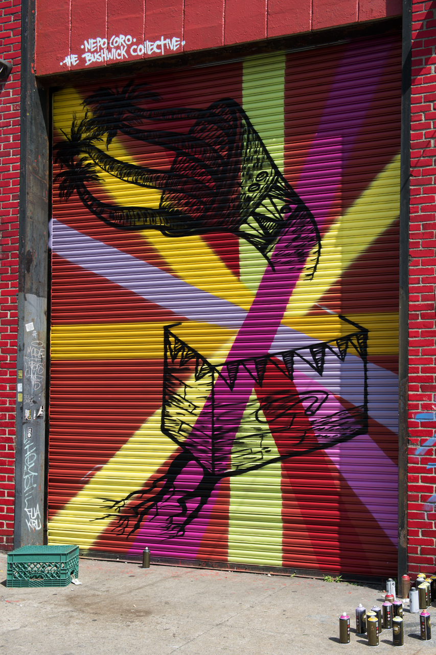 Nepo for the Bushwick Collective