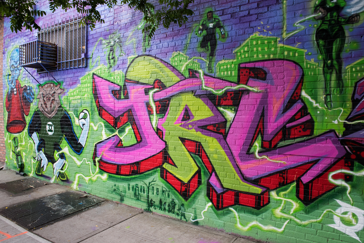 Collab by Hops1 & JRC for the Bushwick Collective
