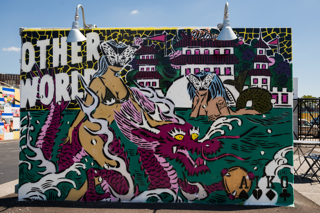 Other world - Aiko for Coney Art Walls 2016