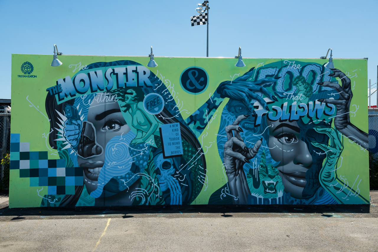 The Monster Within - Tristan Eaton for Coney Art Walls 2016