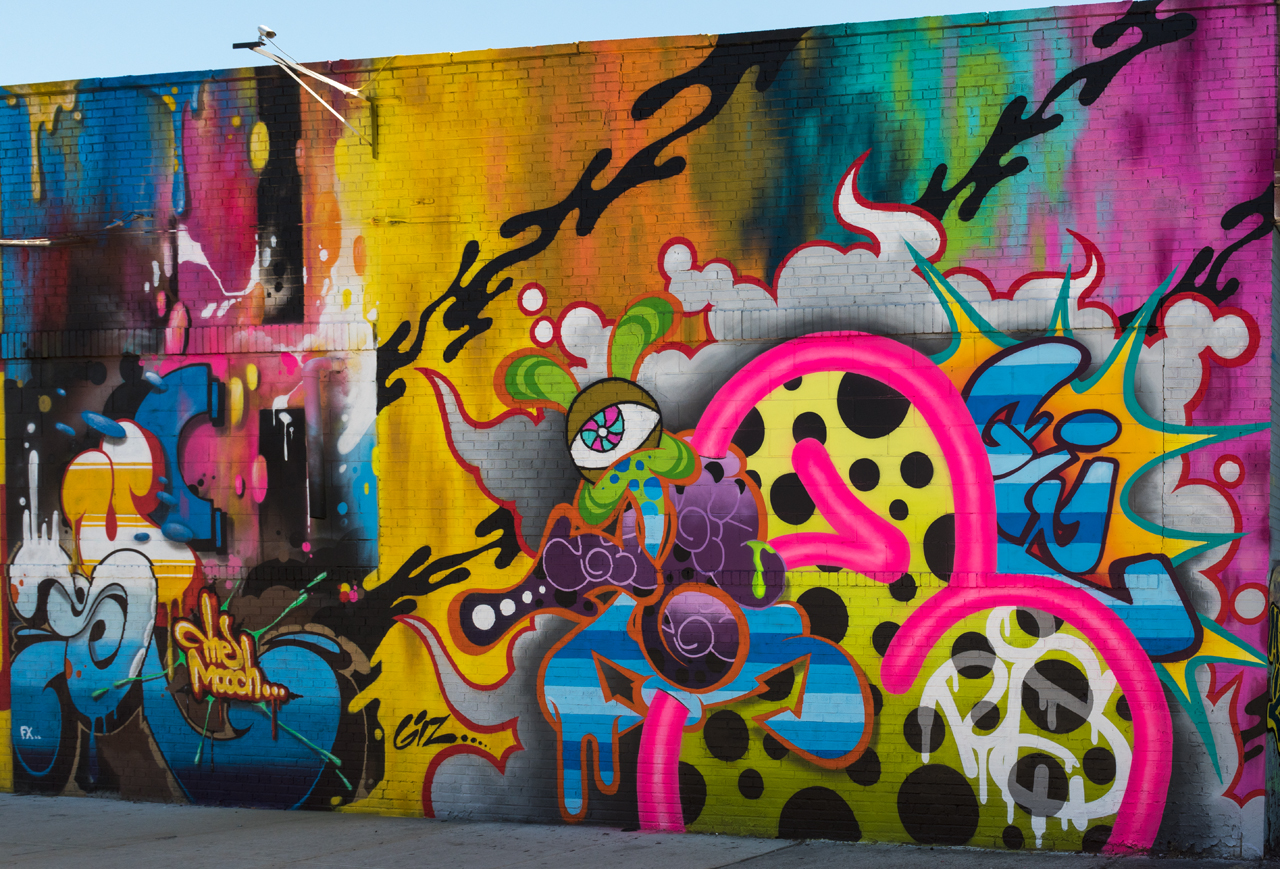 Such and Giz for the Bushwick Collective