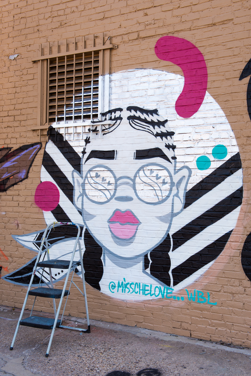 Mural by Miss Chelove