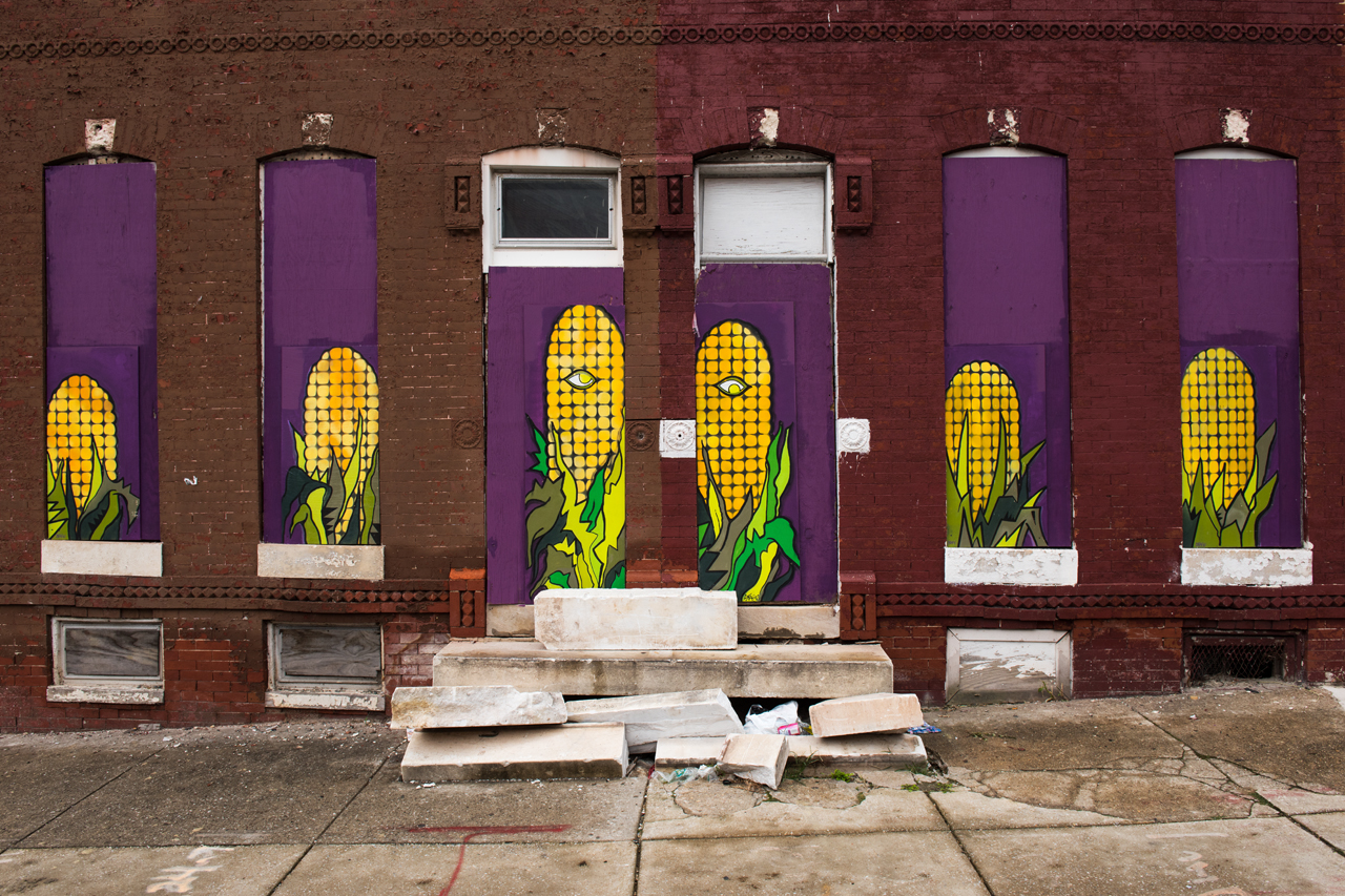 Artful abandonment - a Civic Works Project by artist Adam Stab