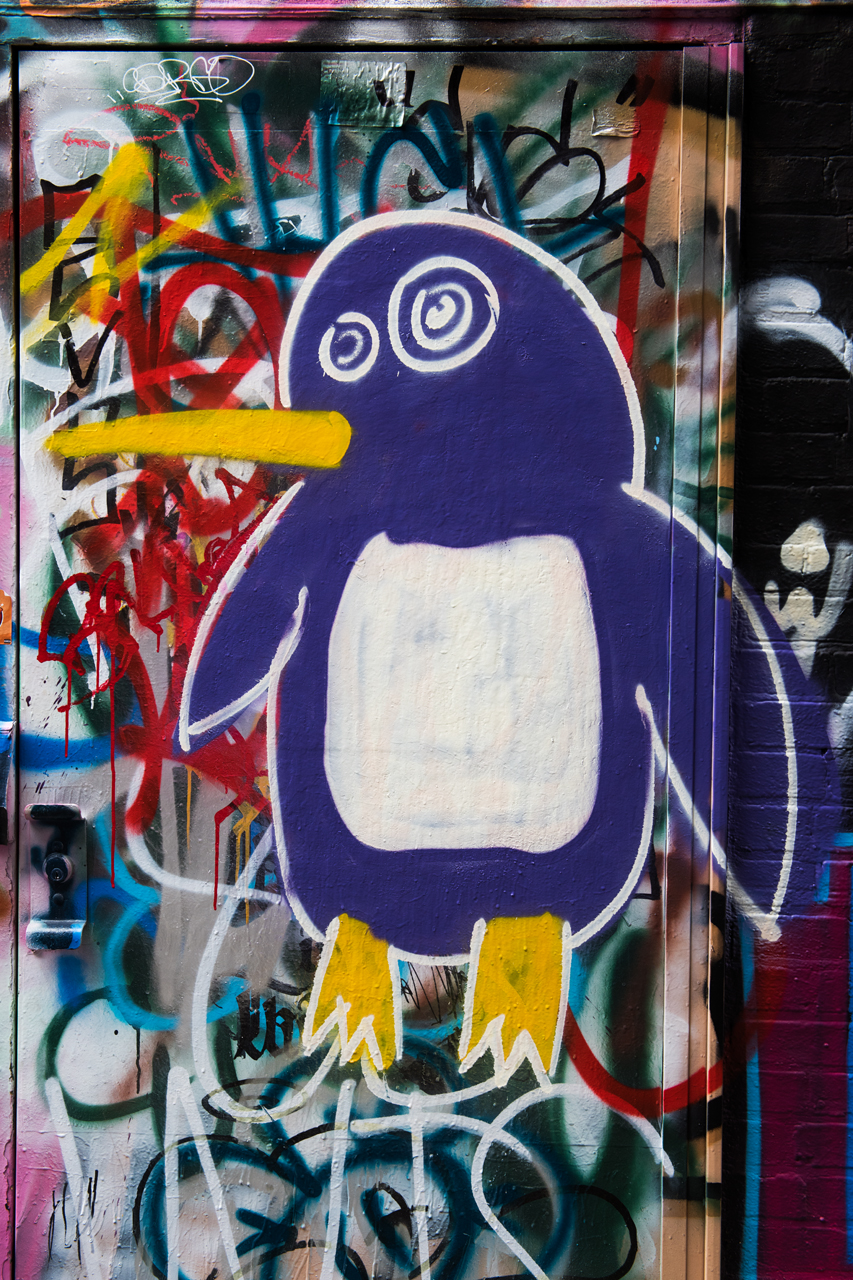 Penguin by The Kid