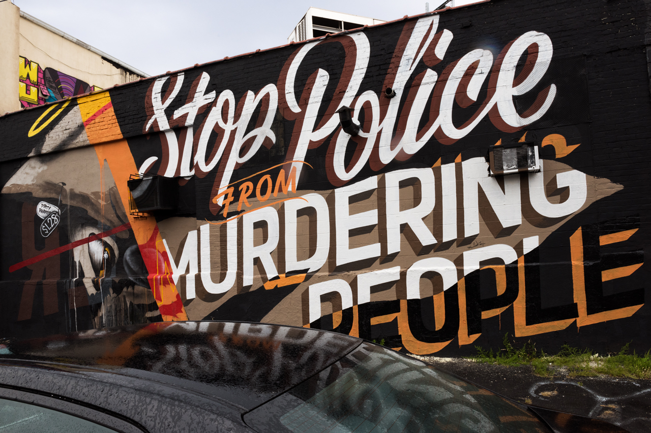 Stop Police by Mr Never Satisfied in East Williamsburg