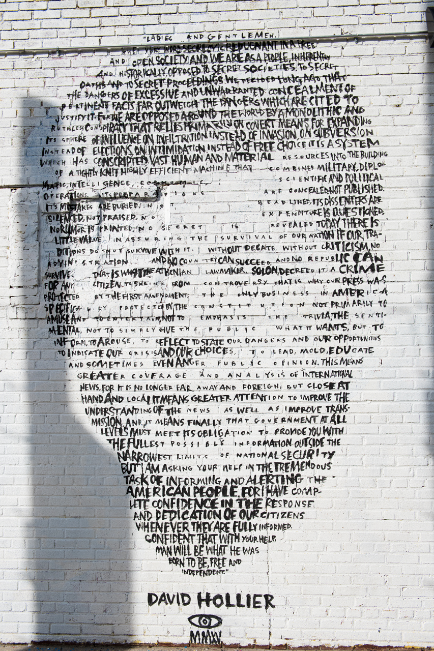 JFK by David Hollier in Greenpoint