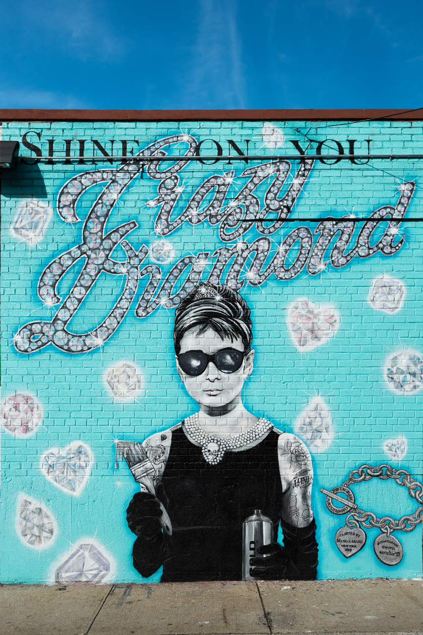 Shine on You Crazy Diamond by Mano O Mano in Greenpoint