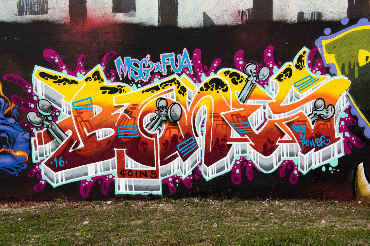 Headlining today's post ... tribute to Bones from MSG & FUA crews